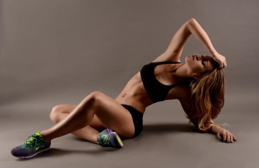 Glamour Model Magazine fitness gurur Kris