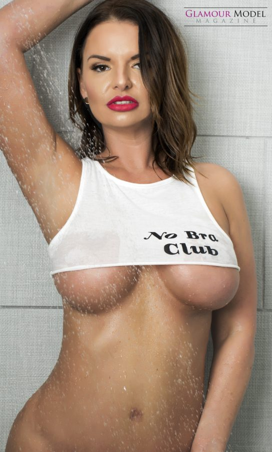 No bra club with Kady K